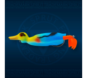 Воблер Sprut Duck Shot 100TW-KF