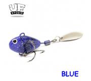 Теил-спиннер UF Studio Hurricane 2,5гр BLUE