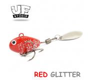 Теил-спиннер UF Studio Hurricane 7,5гр RED GLITTER