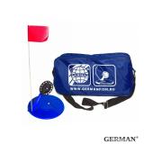 Жерлицы синии German неоснащенные в большой синей сумке 10 шт
