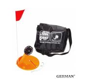 Жерлицы оранжевые German оснащенные в малой черной сумке 8 шт